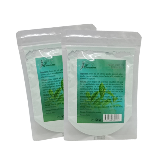 Bột đắp mặt collagen tinh chất Trà xanh